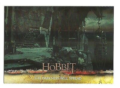 2015 The Hobbit Desolation of Smaug Silver Foil Card # 63