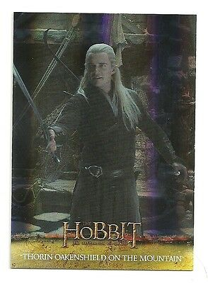 2015 The Hobbit Desolation of Smaug Silver Foil Card # 67
