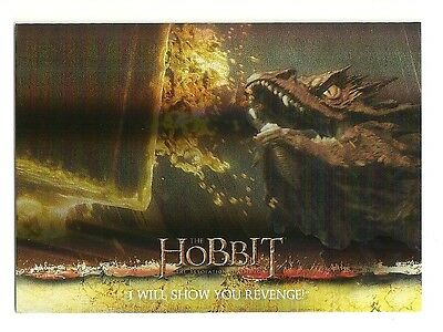 2015 The Hobbit Desolation of Smaug Silver Foil Card # 70