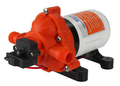 Seaflo 3.3 gpm AUTOMATIC WATER PUMP RV BOAT 12V Replaces SHURFLO 2088-422-444