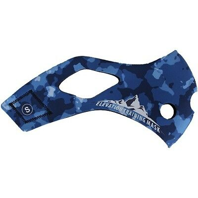 Elevation Training Mask 2.0 Blue Camo Sleeve Only (Blue)