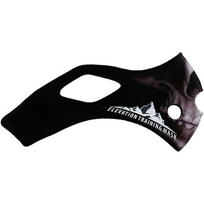 Elevation Training Mask 2.0 Skull Sleeve Only (Black)