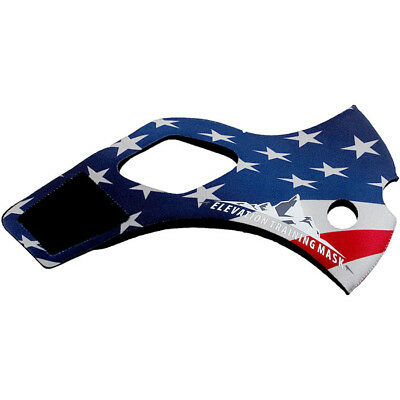 Elevation Training Mask 2.0 USA American Sleeve Only (Blue)