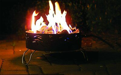 Portable Propane Campfire Pit for Campgrounds,Patios,Tailgates w/Storage Bag-NEW