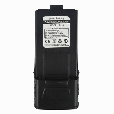 NEW! ** 3800mAh** Li-ion Battery for Baofeng GT-3 MarkII GT-3TP Two-way Radio