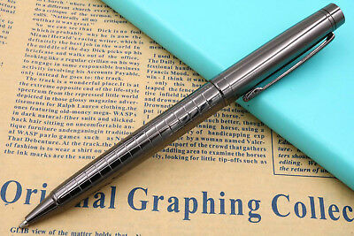 jinhao office metal Tungsten steel Grey and black ballpoint Pen