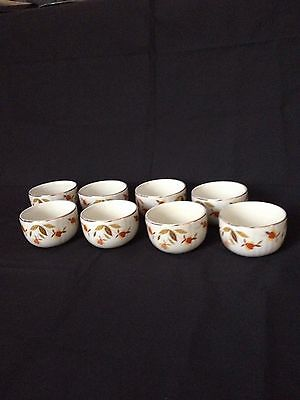 "Hall China - Autumn Leaf - Jewel Tea ""Radiant Custard Cups"""