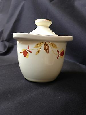 "Hall China Autumn Leaf ""MINT"" NALCC Marmalade Condiment"