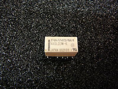 TAKAMISAWA Miniature RELAY SMD DPDT  Double Winding Latching 3V **NEW** 1/PKG