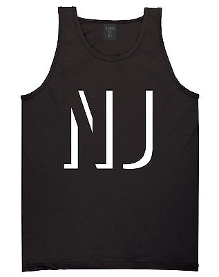 Kings Of NY Initials New Jersey USA State NJ Tank Top T-Shirt