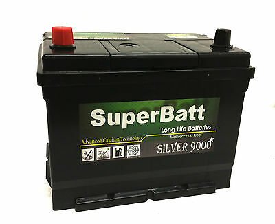 Type 069 Titanium Car Battery 12V 68Ah 550A - Alfas Bentley Daewoo Land Rover