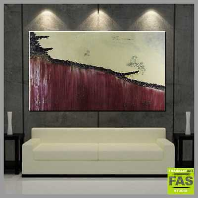CLEARANCE MODERN ABSTRACT PAINTING heavily TEXTURED 160x100 Franko