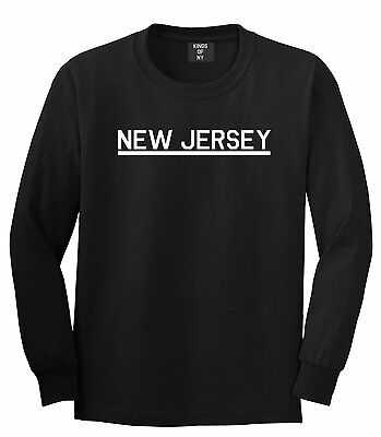 Kings Of NY New Jersey USA State NJ Long Sleeve T-Shirt