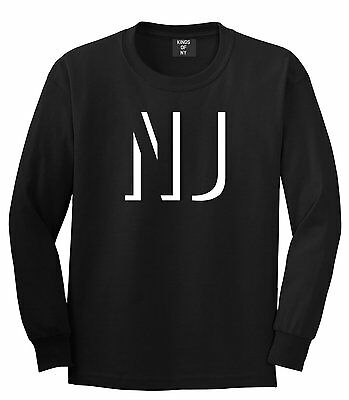 Kings Of NY Initials New Jersey USA State NJ Long Sleeve T-Shirt