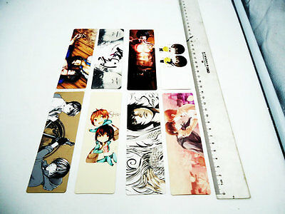 anime Daomu Transparent Students mini dal bookmarks 8pcs/ package Tomb notes