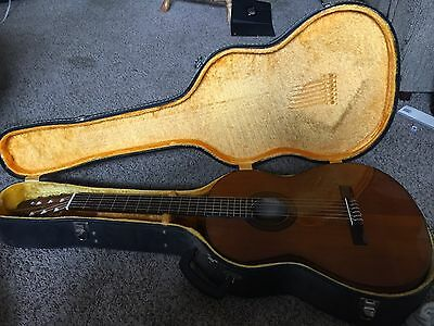 Guitar - Garcia with Hard Case. One owner