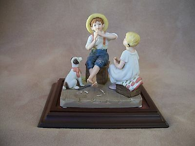 """Norman Rockwell """"The Music Master"""" Figurine"""