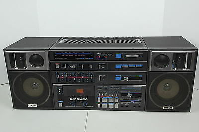 80's Yamaha PC-8 Natural Sound AM/FM Stereo Component Boombox Ghetto Blaster