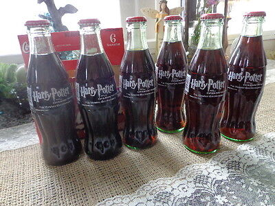ON SALE!Harry Potter Collector's Edition Classic Coke Bottles in carrier