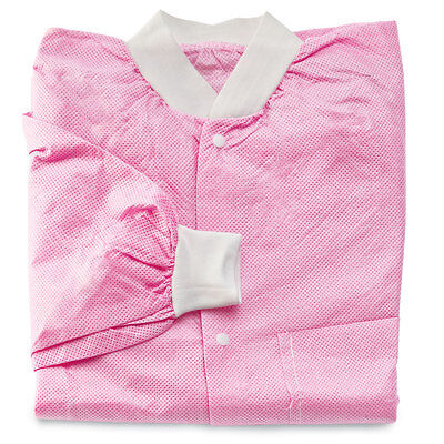 Lightweight Disposable Medical Lab Jackets 2XL 10 pack