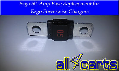 EZGO 50 Amp Fuse | Powerwise Charger Fuse 28106G01 | Powerwise Charger Fuse