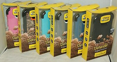 New Otterbox Defender Series Case For Samsung Galaxy S6 & Holster Belt Clip