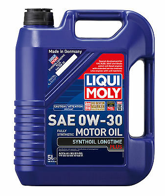 Liqui Moly Synthoil Longtime Plus SAE 0W-30 Fully Synthetic Engine Oil 5L 20008