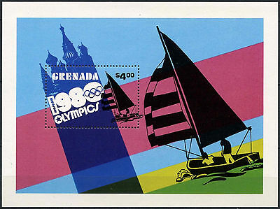 Grenada 1980 SG#MS1059 Olympic Games MNH M/S #A87019