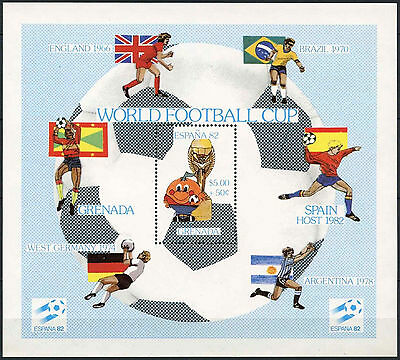 Grenada 1981 SG#MS1163 World Cup Football MNH M/S #A87045