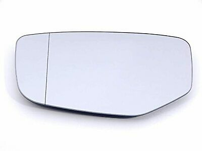 Fits 02-03 Acura TL Left Driver Mirror Blue Glass Lens w//o backing mount