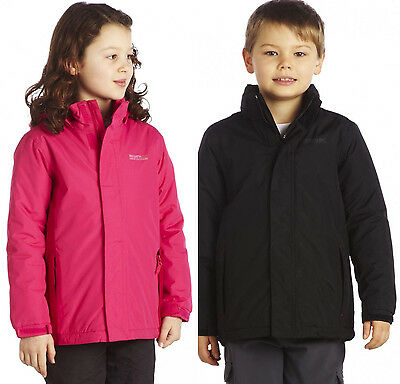 Regatta Boys Girls Obstacle II Waterproof Kids Jacket