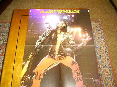 2 POSTERS AEROSMITH & THE CULT