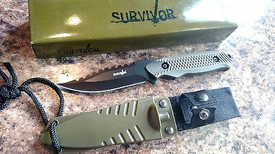 """Survivor Fixed Blade Full Tang 8"""" Hunting knife Free Shipping!"""