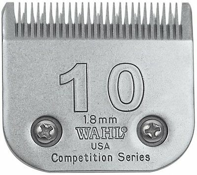 """WAHL COMPETITION 10 BLADE 1.8mm. 1 1/16"""".  DOG GROOMING."""