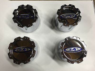 NEW Moto Metal 8 lug center cap 353K133H Ford Dodge Chevy snap  SET OF 4 8 BOLT
