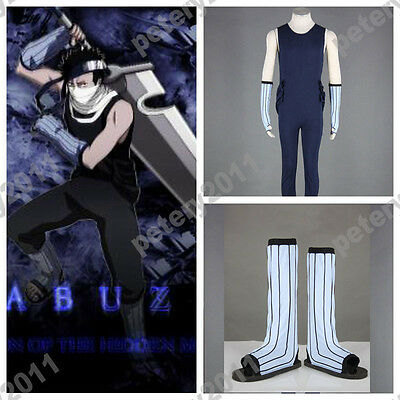 Naruto Anime Cosplay Costumes Momochi Zabuza Cosplay Costume Halloween