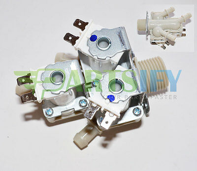 New! Washer Water Inlet Valve For Lg Model Wm2455Hg Exact Fit