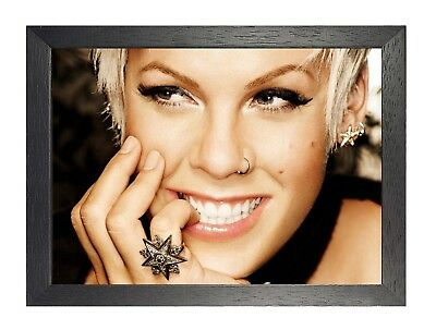 Pink 1 - Singer Actress American Sexy Girl Poster Music Star Picture Smiling