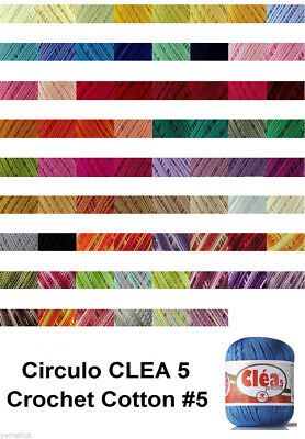 Circulo CLEA5 150g 750m Crochet Cotton Knitting Yarn Thread Yarn #5
