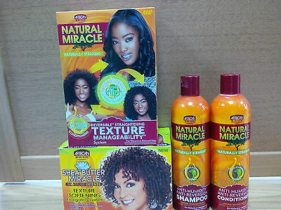 African Pride Hair Texturiser Products