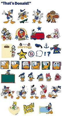 Disney Donald Duck Brother Machine Embroidery Designs PES CD, USB