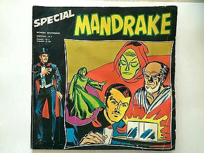 Special Mandrake N°2 Mondes Mysterieux 1974