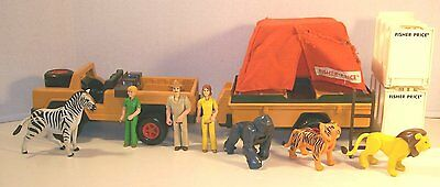 Fisher Price Safari Playset Pieces