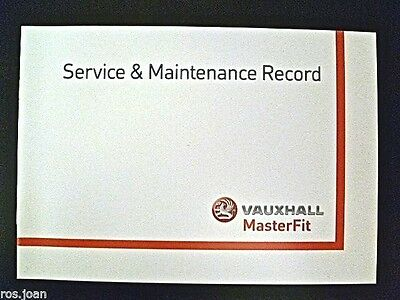 Vauxhall Service History Record Book Tigra A & B Models  Brand New Genuine*