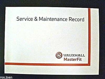 Vauxhall Service History Record Book Antara Models  Brand New Genuine*