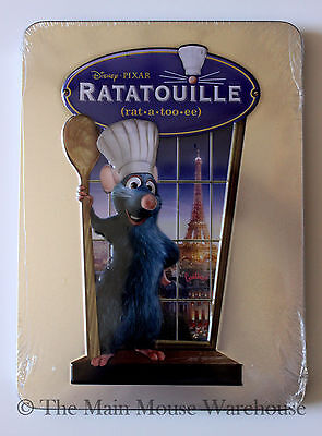 Disney Pixar Ratatouille on DVD in Real 3D Collectible Tin Packaging