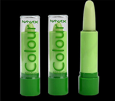 Pretty Popular Waterproof Magic Fruity Smell Green Changable Color Lipstick Lip