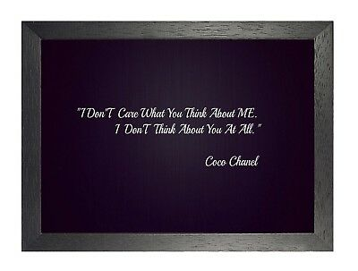 272 Motivational Print Strong Coco Chanel Quote Inspirational Artwork Poster
