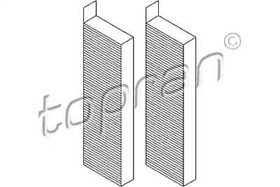 PEUGEOT 5008 3008 Activated Carbon Cabin Air Filters X2 2009-