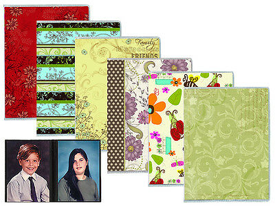 "2 Pcs Pioneer Flexible Mixed Designs Covers Photo Album Holds 36 4x6"" Photos"